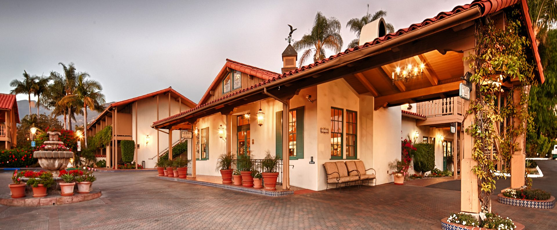 Spanish style Best Western Plus Pepper Tree Inn in Santa Barbara