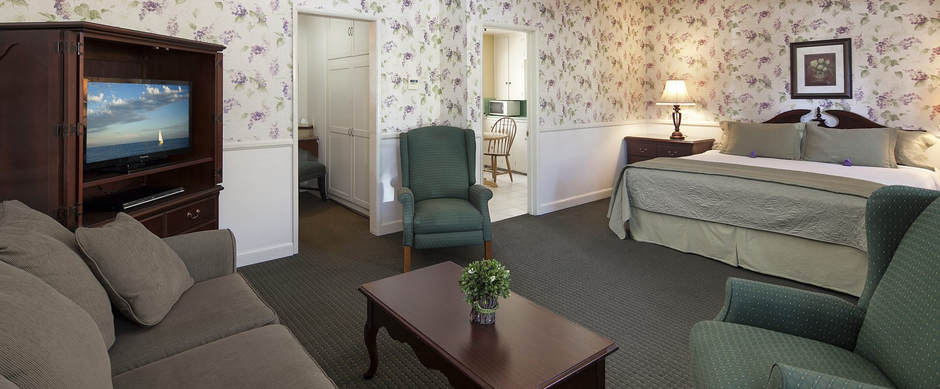 spacious rooms at Lavender Inn by the Sea