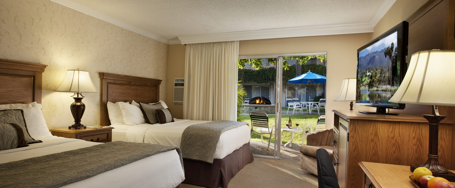 Two Queen double rooms at Best Western Plus Pepper Tree Inn