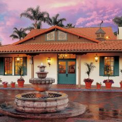 Hacienda-style Best Western Plus Pepper Tree Inn hotel in Santa Barbara CA