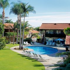 Outdoor pool at Best Western Plus Pepper Tree Inn