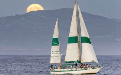 Sunset Kidd's Full moon Sailing