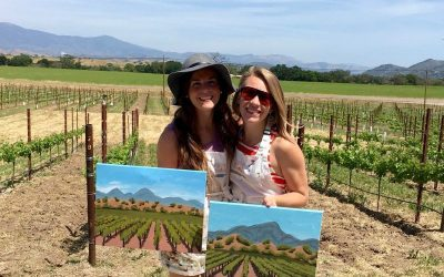Paint in the Vineyard at the Kalyra Vineyard
