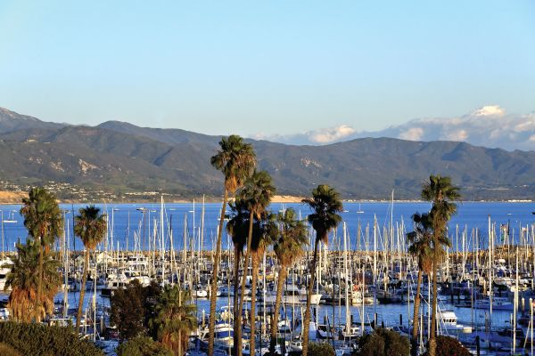 Santa Barbara Harbor views